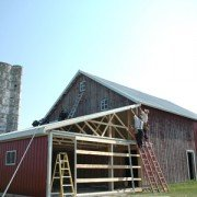 In 2010 an Amish crew refurbished the Reese barn.