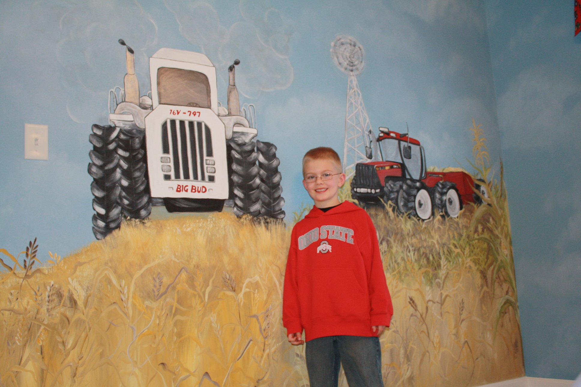 Home Ideas On Pinterest Tractor Bed Tractors And Tractor Bedroom