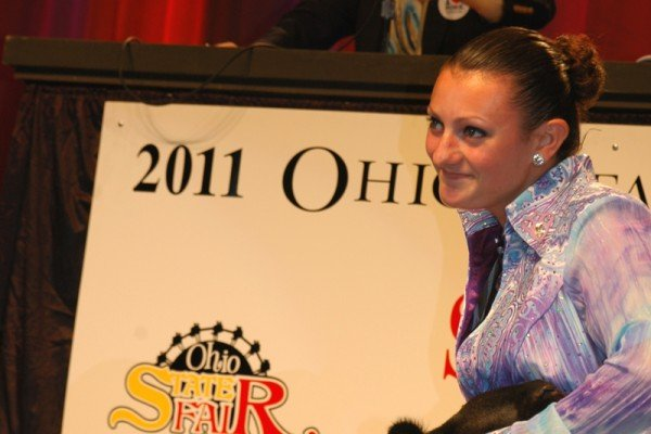 Mackenzie Fruchey, Fulton County, had the 2011 Grand Champion Market Lamb that was purchased by Kroger for $43,000.  Madison Banbury, Knox County, had the Reserve Grand Champion Market Lamb that was purchased by Kale Marketing, Burkhart Farms and The Ohio Horse Racing Industry for $19,500.