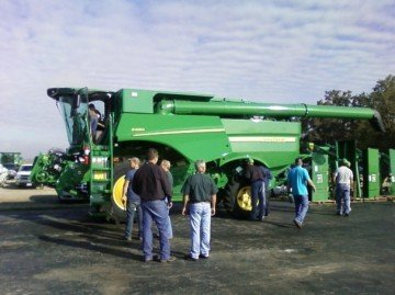 jd equipment john deere combine