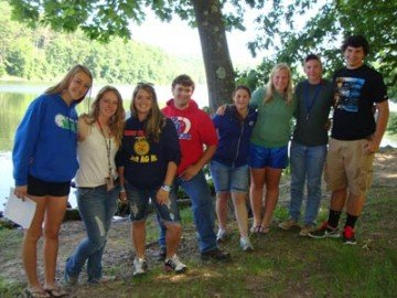 Camp Muskingum has been a home for FFA fun for many years.