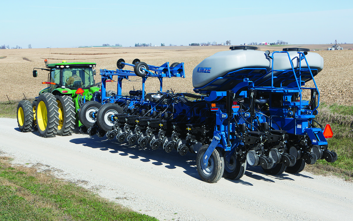 Kinze Coming Out With New 4900 Series Planter In 2014 Ohio Ag Net