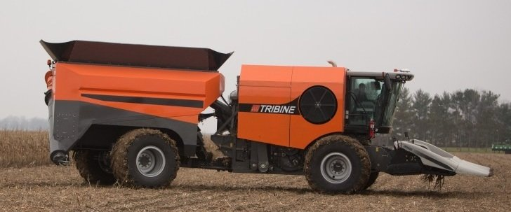 Self Propelled Cart >> Is the Tribine the future of harvesting crops? – Ohio Ag Net   Ohio's Country Journal