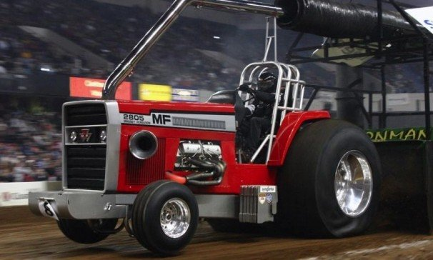 Cope Wins Big At National Farm Machinery Show Tractor Pull
