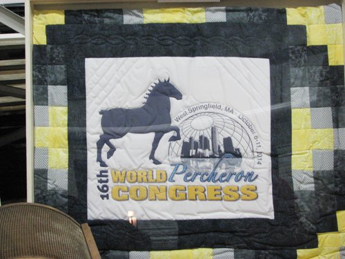 World Percheron Congress Quilt