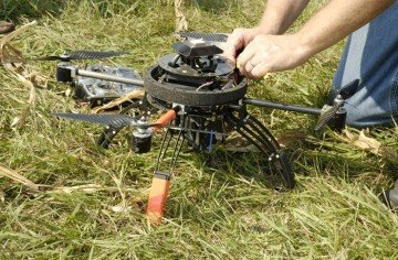 drone used in ag