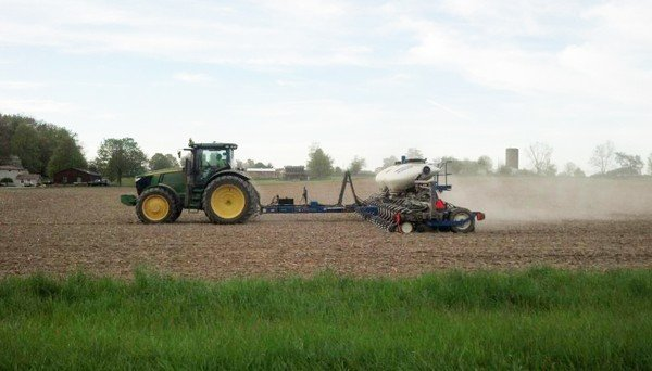 Lazy P Farms hit planting hard in early May in Fairfield County.