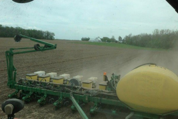 @NewVisionFarms planting #popcorn in NW Ohio @ConAgraFoods