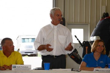 USDA's MIchael Scuse talked farm bill with Ohio ag leaders last summer.