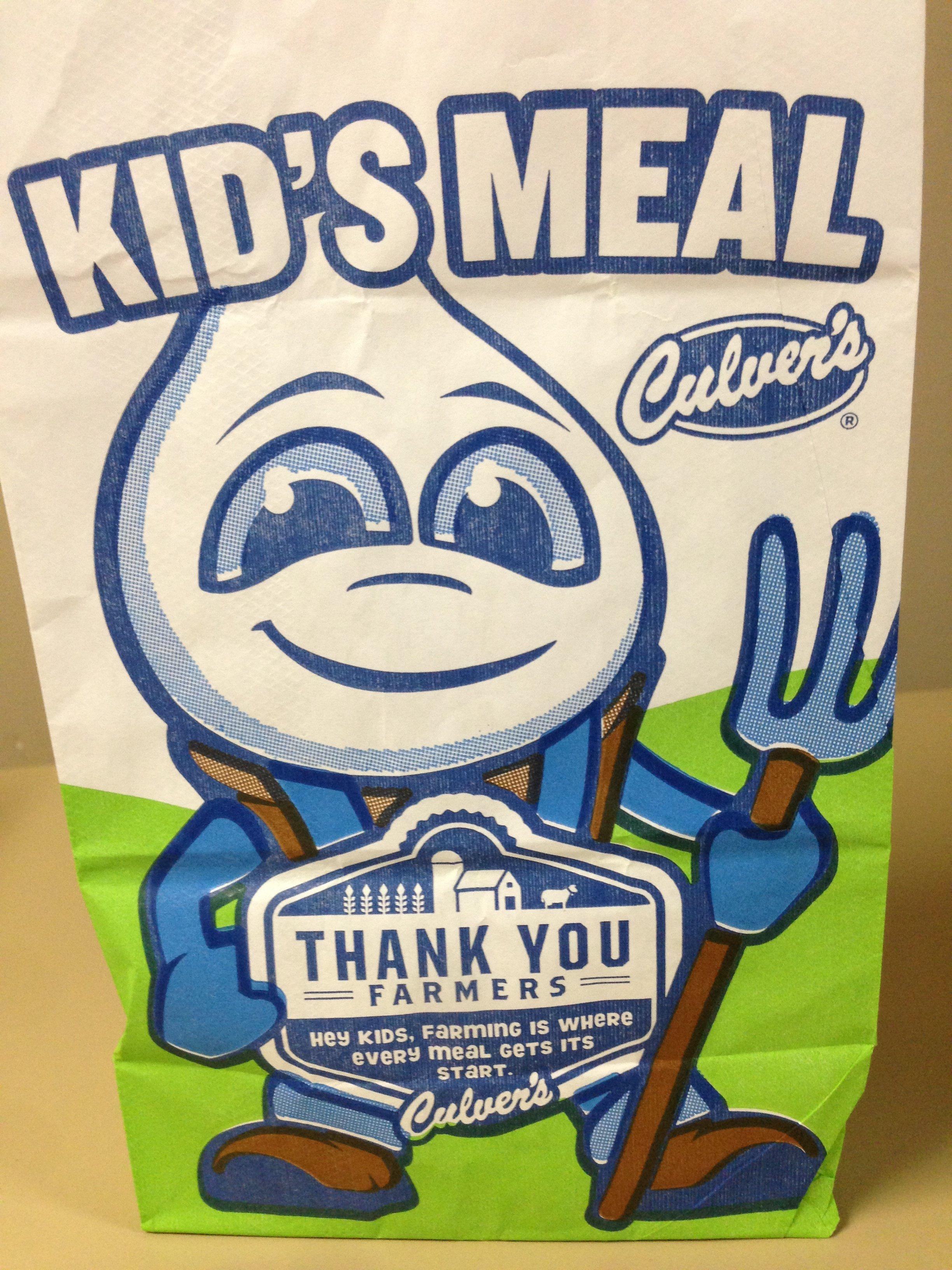 Kids Eat Free Culvers