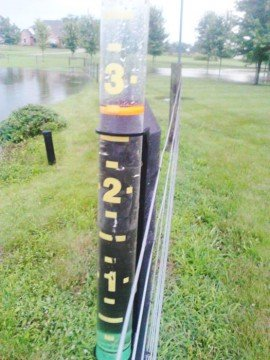 Parts of Ohio have been getting rain in doses of 3 or 4 inches at a time. Photo by Garry Siders in Fairfield County.
