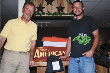 In 2002, Lawson and B.J. Nickol founded the All American Clothing Co. in Darke County.