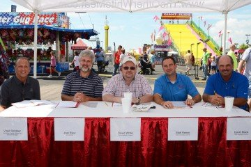 The judges...