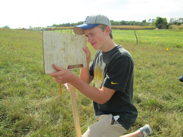Miami east mvctc ffa competes in county soils judging for Soil judging