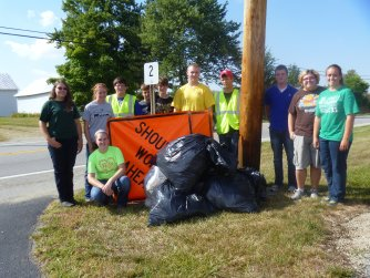 Greenville Adopt-A-Highway 2013
