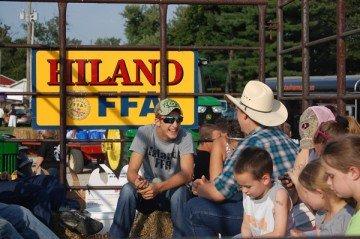 Hiland FFA parade 2013