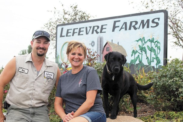 Lefevre Farms is owned and operated by Tom and Lisa Lefevre and their family, which includes their seven children, Priscilla, Joe, Tony, Haley, Sydney, Adam and Robby, and two grandchildren, Myah and Jaxin.