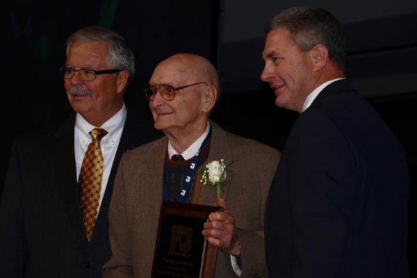 Earl Gerdeman was honored with a Distinguished Service Award