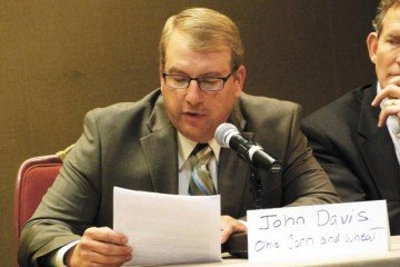 John Davis, from Delaware County, testified on the RFS.