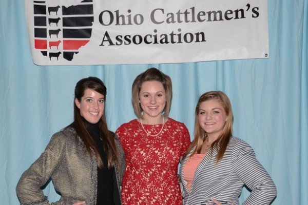 Demi Snider, Hallie Hiser, and Kendra Gabriel were selected as Ohio Beef Ambassadors.