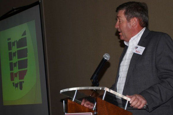 NCBA president Scott George talked about the very optimistic outlook for the beff business in the coming years.