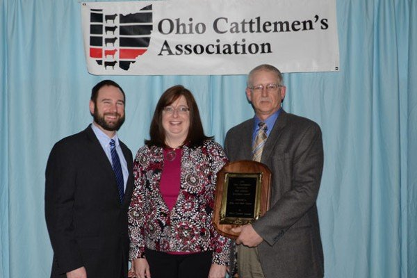 Mike and Beth Carper were recognized with the Industry Excellence Award, sponsored by Ohio's Country Journal.