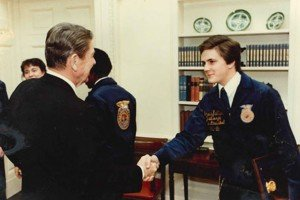 Bruce Kettler got to meet President Reagan during his time as a National Officer.
