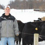 Al Gahler, from Ottawa County, was recently named the Young Cattleman of the Year by the Ohio Cattlemen's Association.