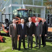 Kubota's executive management team places a high priority on the dealer-manufacturer relationship.