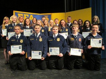 2014 Chapter Degree Recipients