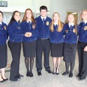 The Zane Trace FFA Animal Behavior, Welfare and Husbandry CDE team recently earned State Runner-Up honors.  Team members included Ashely McCullough, Haylee Vollmar, Kim Wolfe, Nat Mavis, Ann Shelby, Mariah Cox and Olivia Pflaumer.