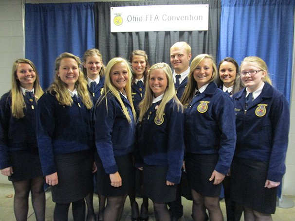 miami east mcvtc ffa members place at state agriscience fair ohio