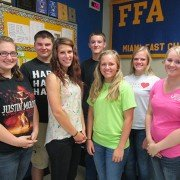 May FFA Members of the Month