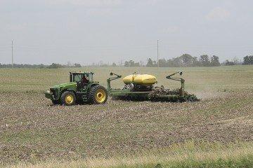 Planting west of Kenton
