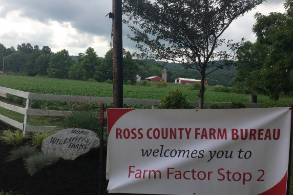 Williams Farms was a beautiful stop for the 2014 Farm Factor event.
