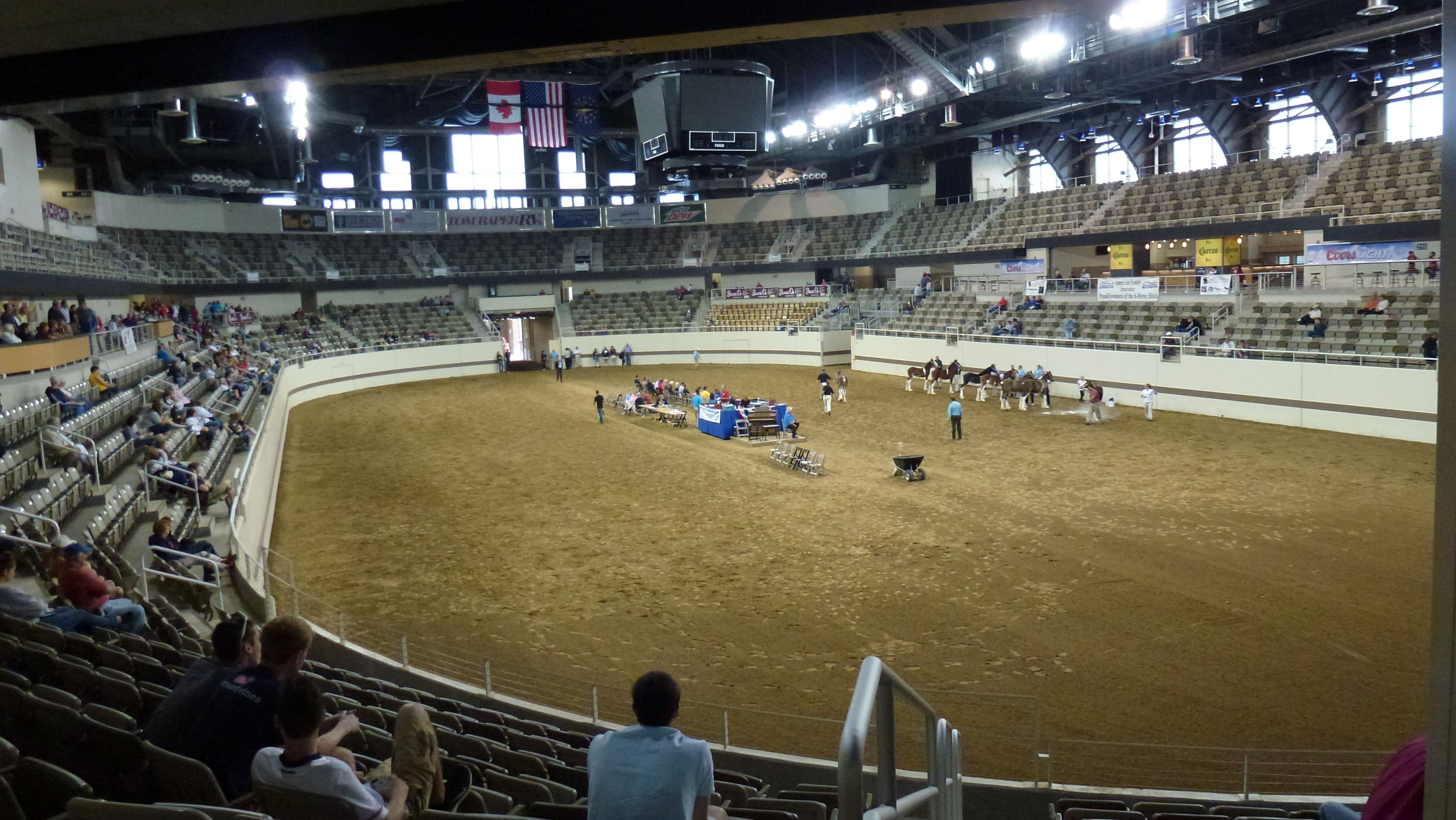 """2014 Indiana State Fair scenes: """"Year of the Coliseum"""