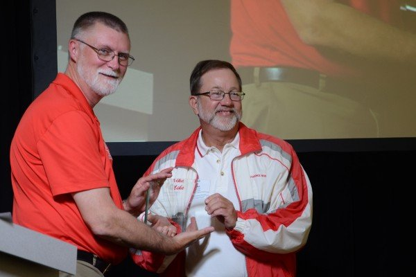 Mike Haubner was inducted into the FSR Hall of Fame.