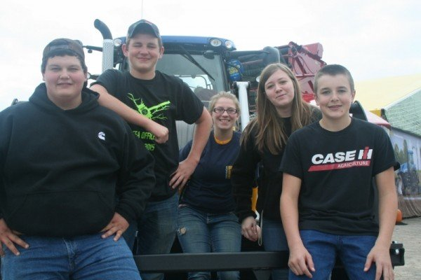 Members of The Genoa FFA Chapter spent Wednesday at the Farm Science Review.