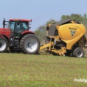 Vermeer fully continuous round baler