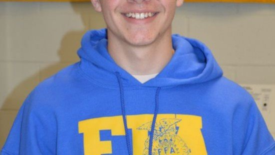 Lance Reynolds - November 2014 Member of the Month for the Miami East-MVCTC FFA