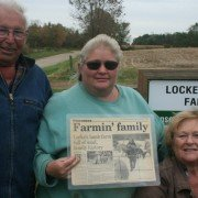 Karen Locke (right) of Coshocton County is the 2014 Master Shepherd of the Year.