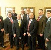 The ASA 2015 Executive Committee. Bret Davis (Center)