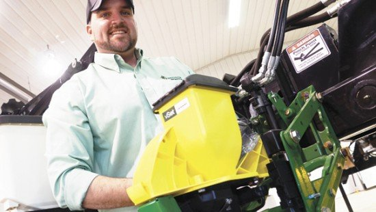 Charlie Troxell, precision ag specialist for Precision Agri Service, Inc., has a broad perspective of planter components that pay.