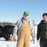 Jason and Justin Dagger are the fifth generation on Cable Acres Farms, the winner of this year's Ohio Cattlemen's Association Commercial Producer of the Year Award.