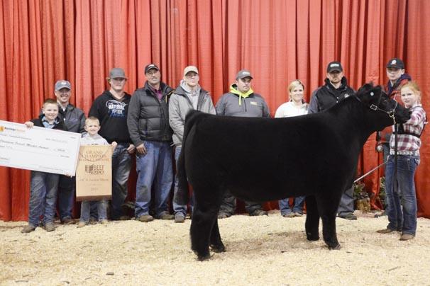 Grand Champion Market Animal: Addison Jones, Allen County