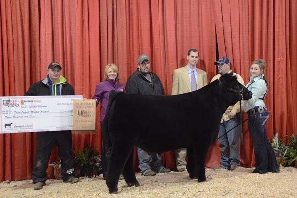 Third Overall Market Animal: Jonna Gross, Hocking County
