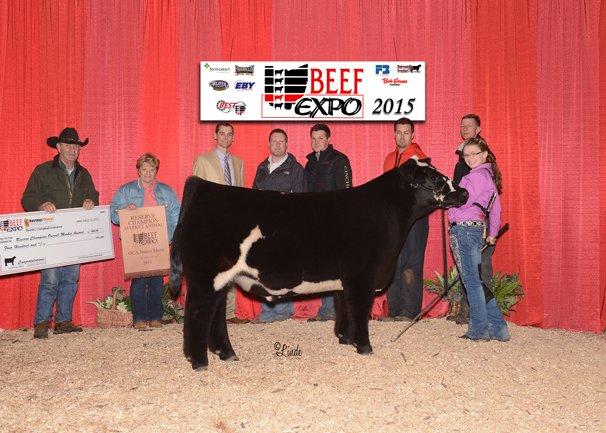 Reserve Grand Champion Market Animal: Brooke Egbert, Auglaize County