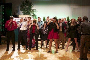 The Buckeye Decade Dancers on the dance floor