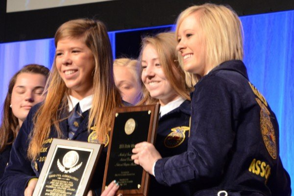 Mowerystown FFA was the top chapter in Student Development