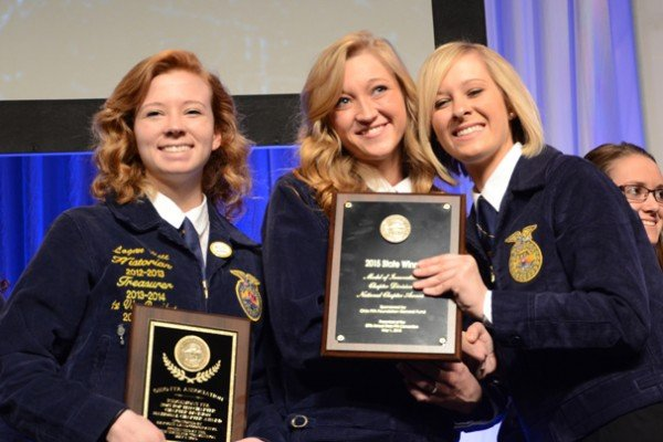 Ridgemont FFA was the top chapter in Chapter Development
